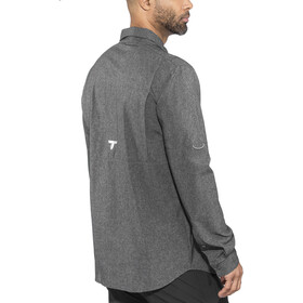 Columbia Irico T-shirt à manches longues Homme, black heather